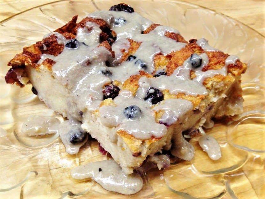 7 Best St. Thomas Restaurants: Banana Blueberry Bread Pudding