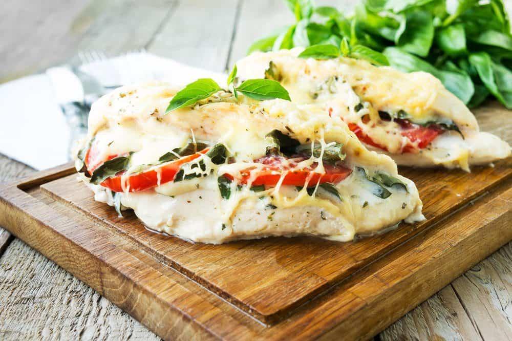 7 Best Restaurants in Ludington MI: Caprese Chicken