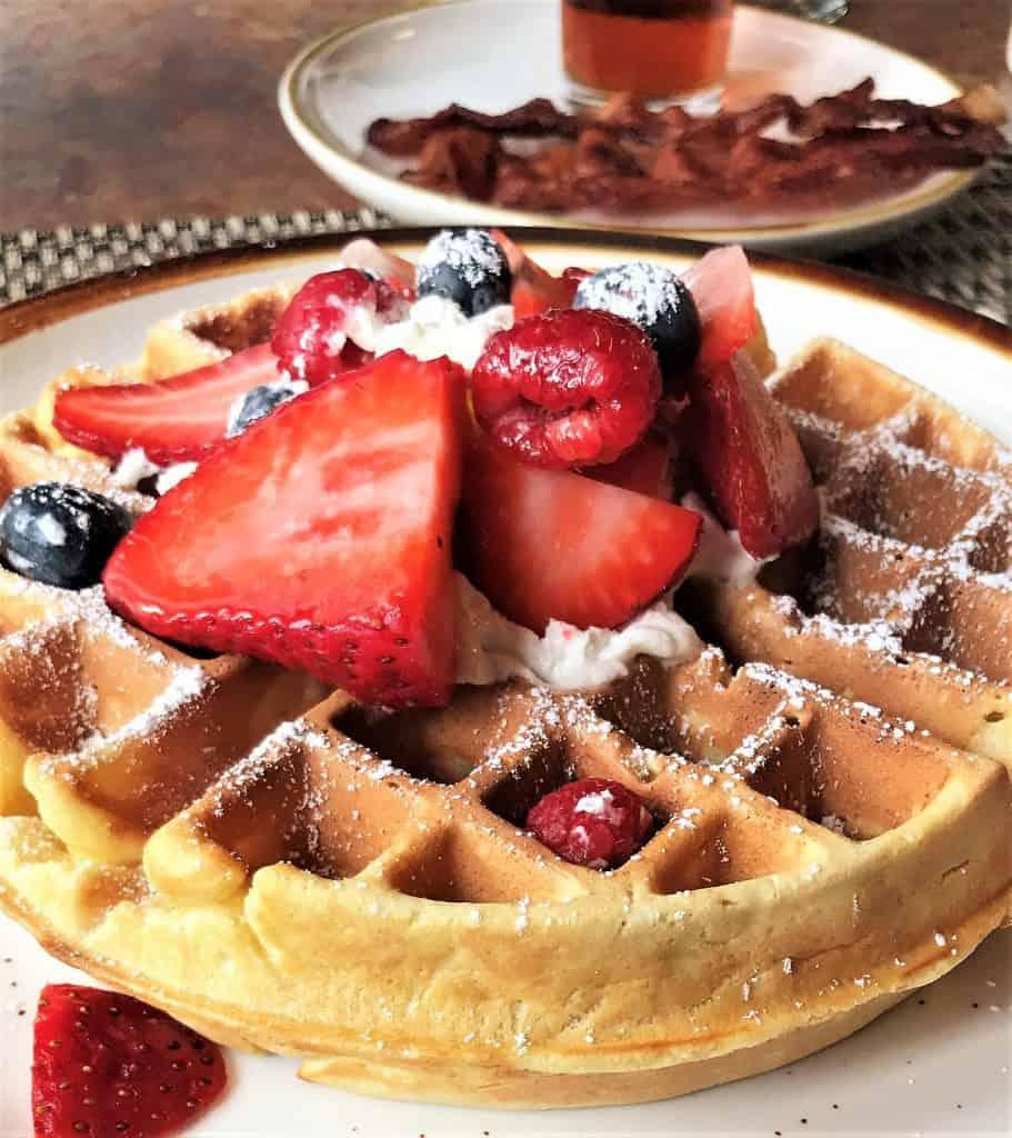 7 Best Restaurants in Ludington MI:  Waffles