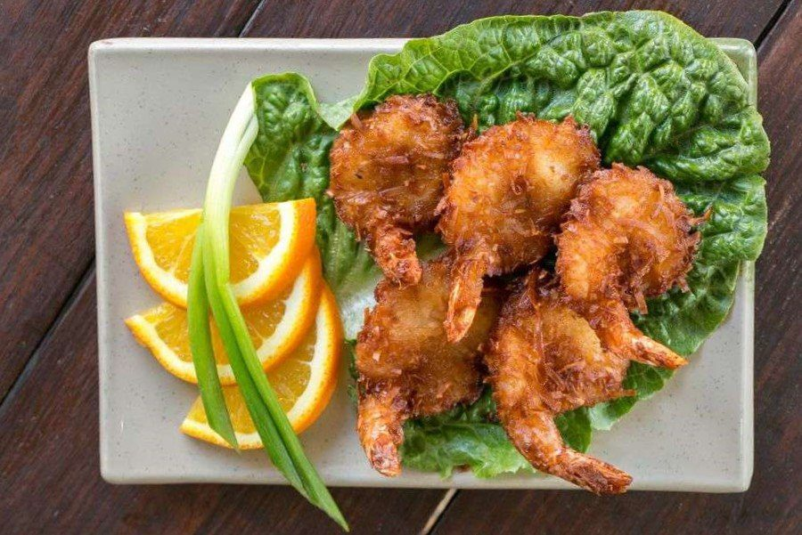 7 Best St. Thomas Restaurants: Coco Loco Shrimp
