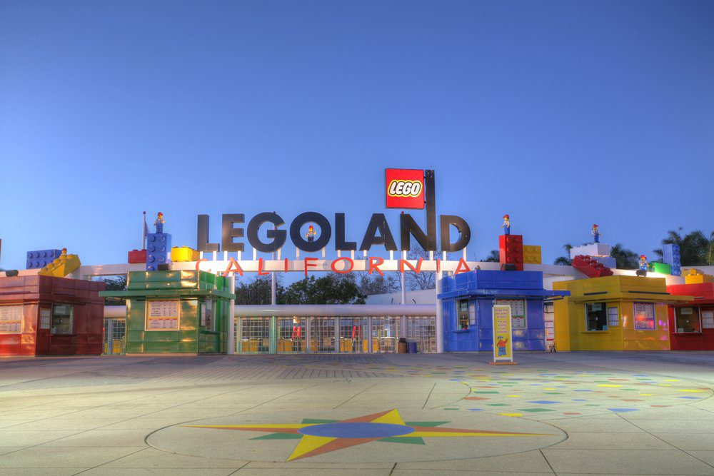 14 Best Things To Do In Carlsbad: Entrance of LEGOLAND