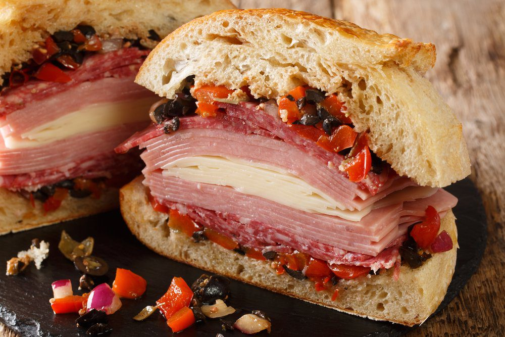 7 Must-Try Bay St. Louis Restaurants: Muffuletta Sandwich