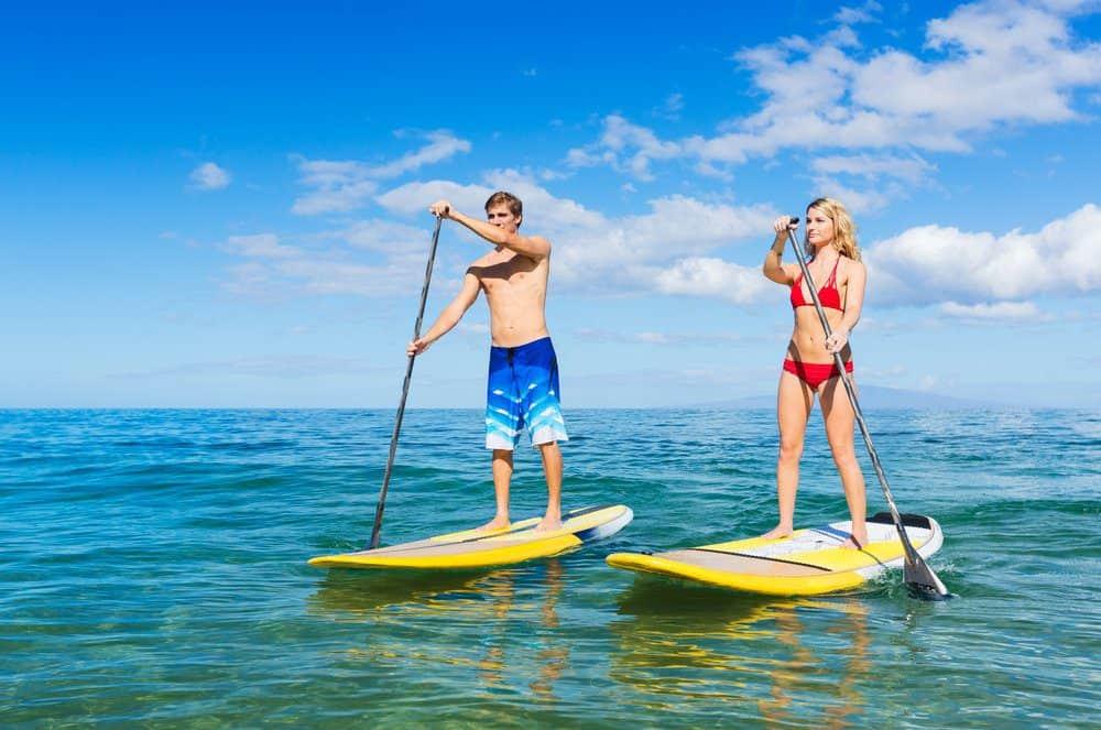 16 Best Things To do In Playa Del Carmen:  Paddle Boarding