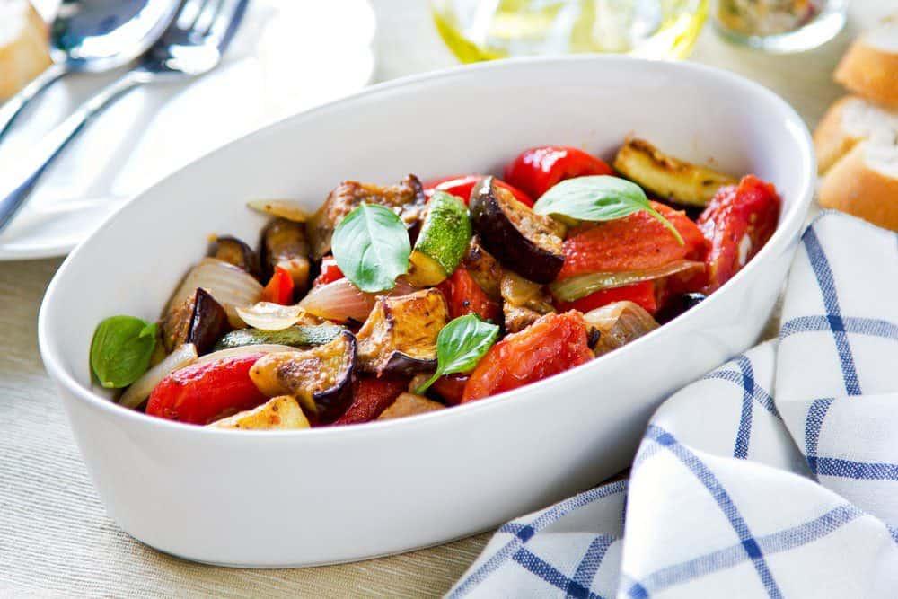 7 Best Restaurants in Ludington MI: Baked Vegetable Ratatouille
