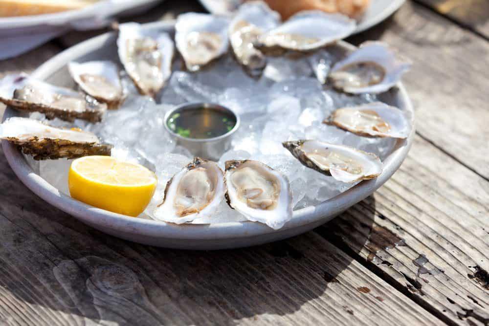 15 Must-Try Sanibel Island Restaurants: Raw Oysters