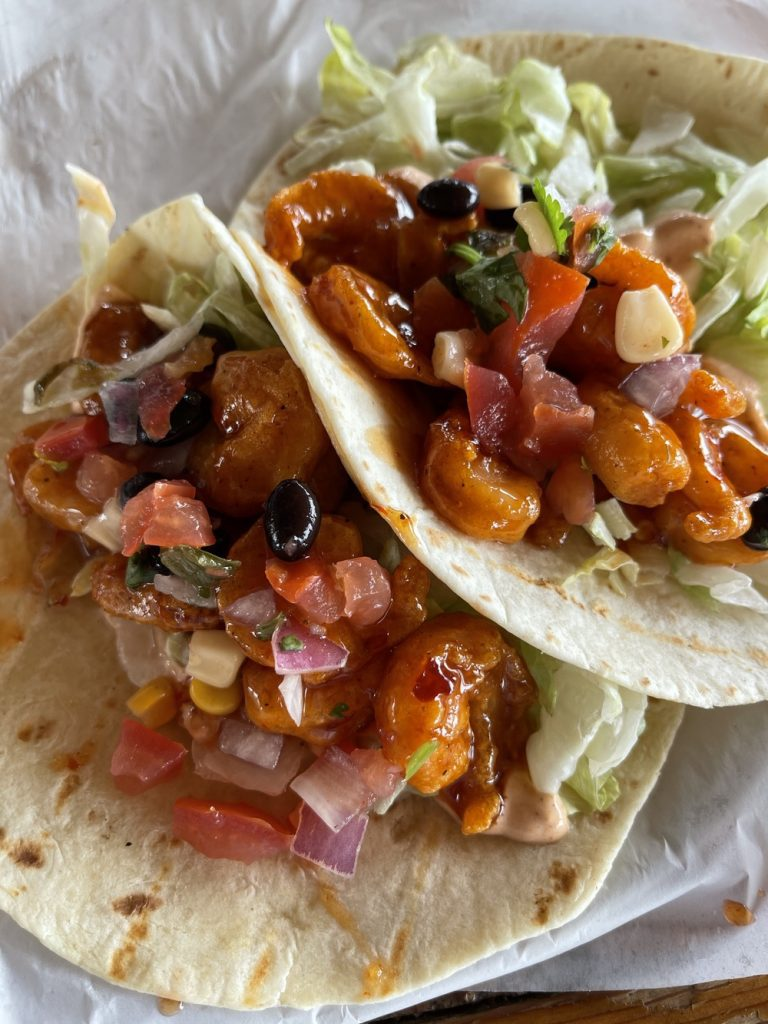7 Must-Try Bay St. Louis Restaurants: Spicy Shrimp Tacos