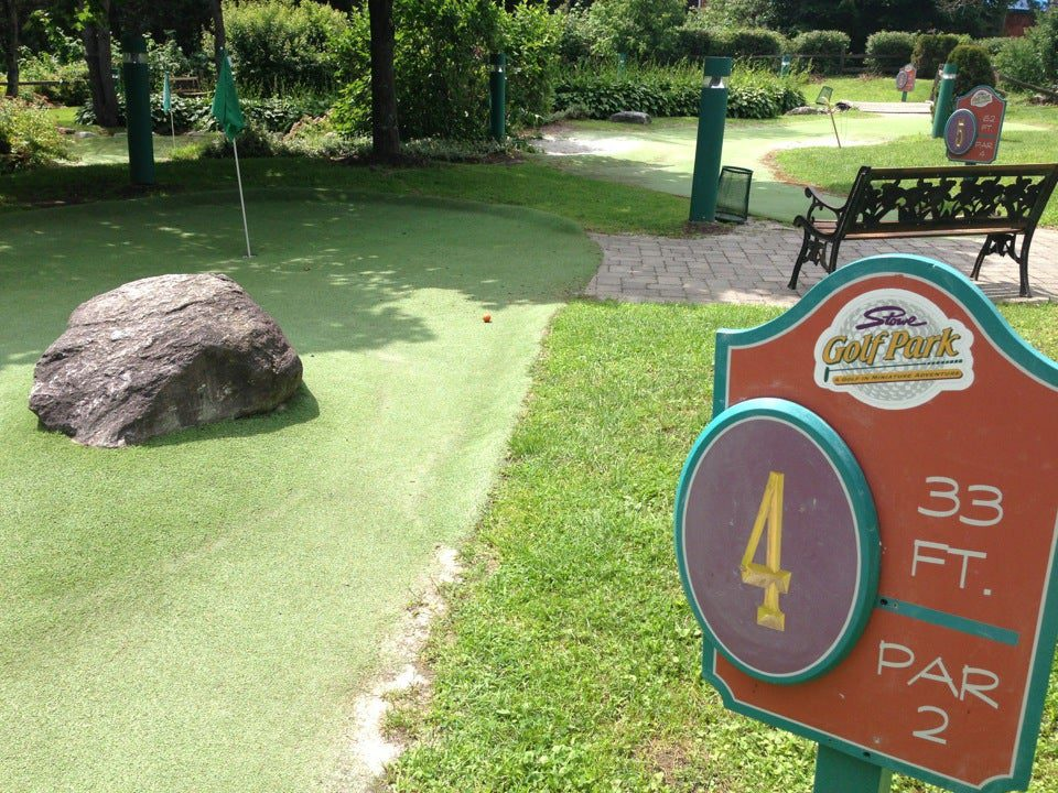 10 Best Things To Do In Stowe VT:  Stowe Golf Park