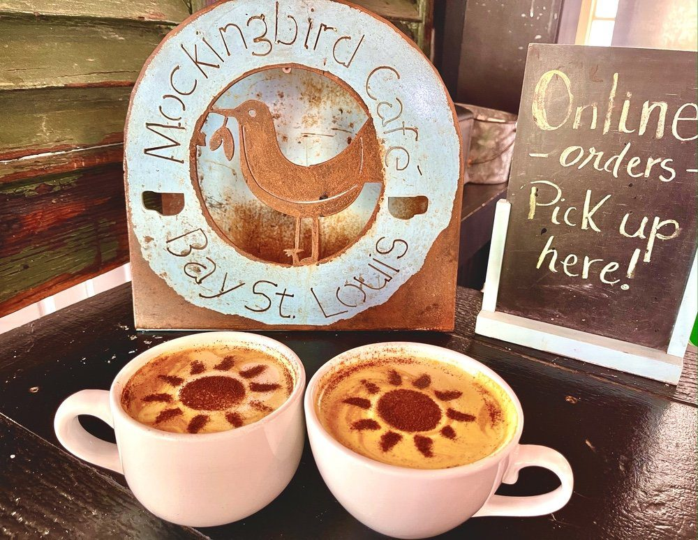 7 Must-Try Bay St. Louis Restaurants: Two Tumeric Lattes