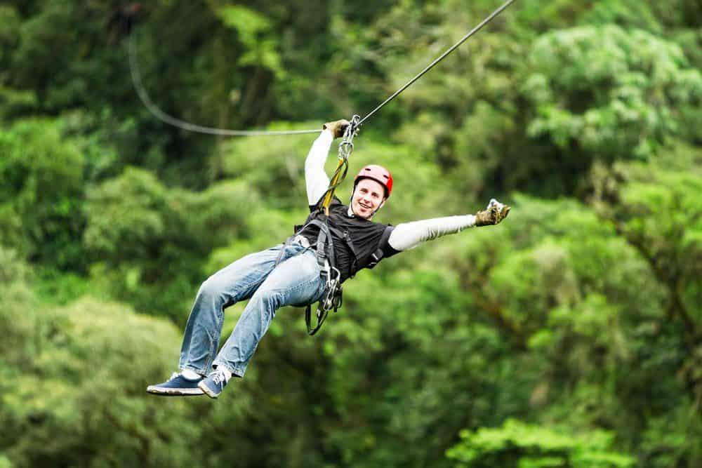 16 Best Things To do In Playa Del Carmen:  Zipline Ride