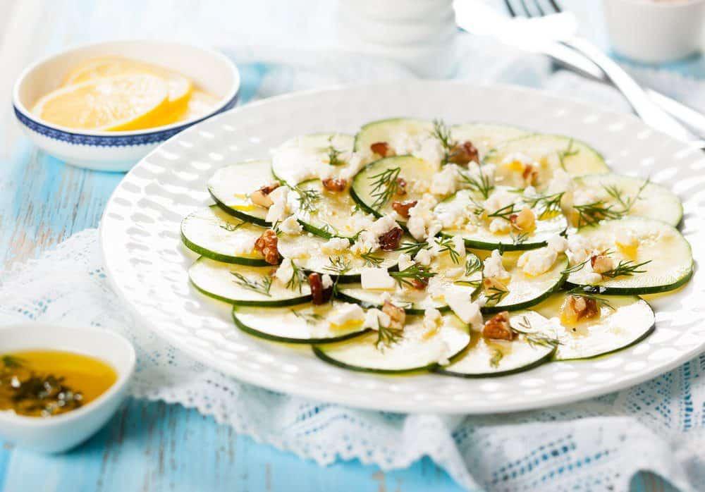 8 Must-Try Downtown Charleston Restaurants: Zucchini Carpaccio