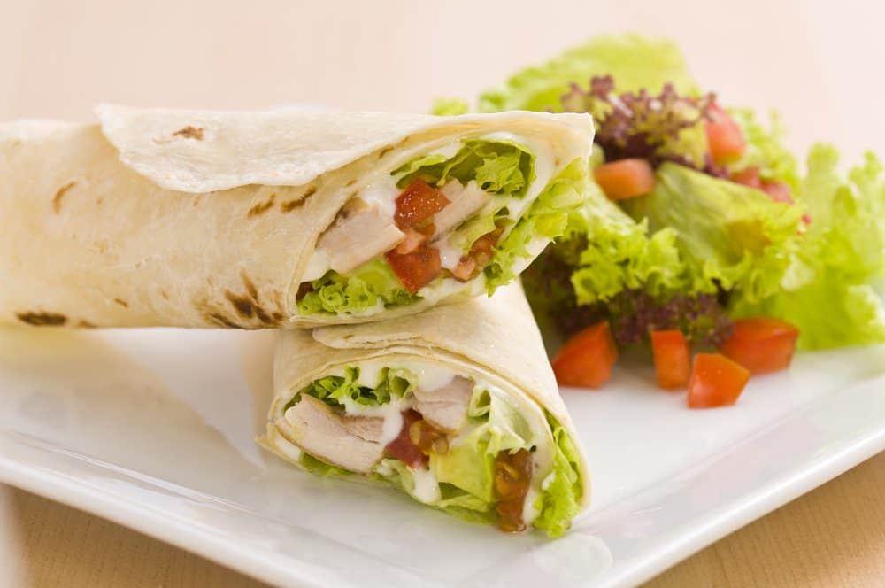 5 Best Scottsdale AZ Restaurants: Grilled Chicken Avocado Wrap