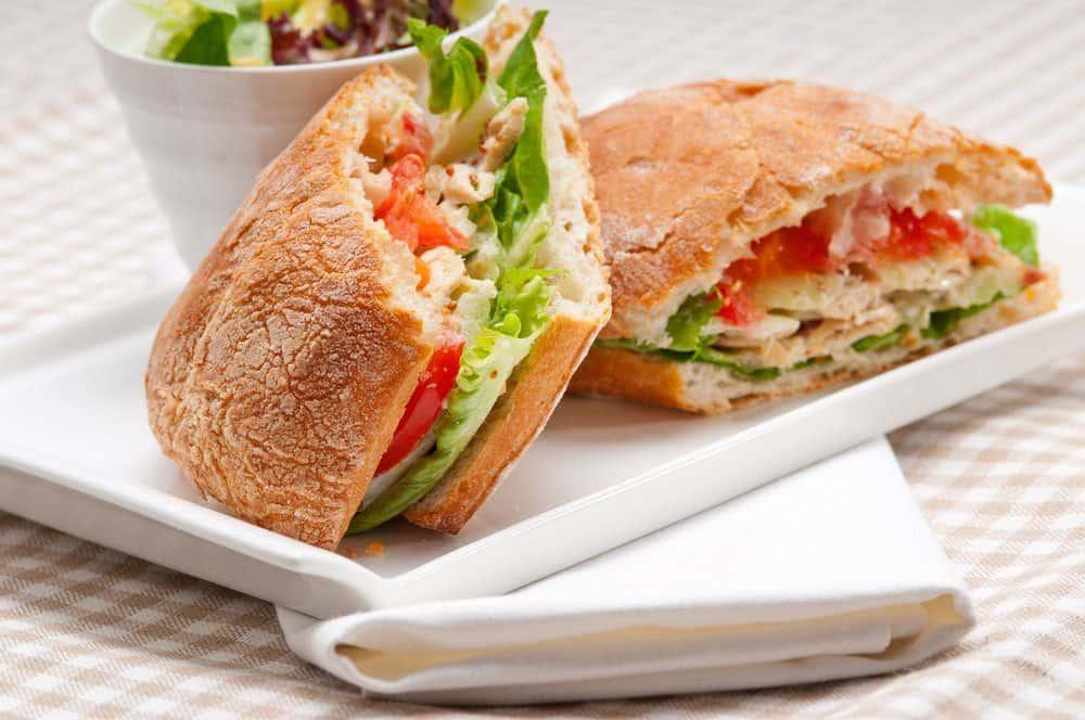 5 Best Scottsdale AZ Restaurants: Chicken, Cheese, Ham on Ciabatta