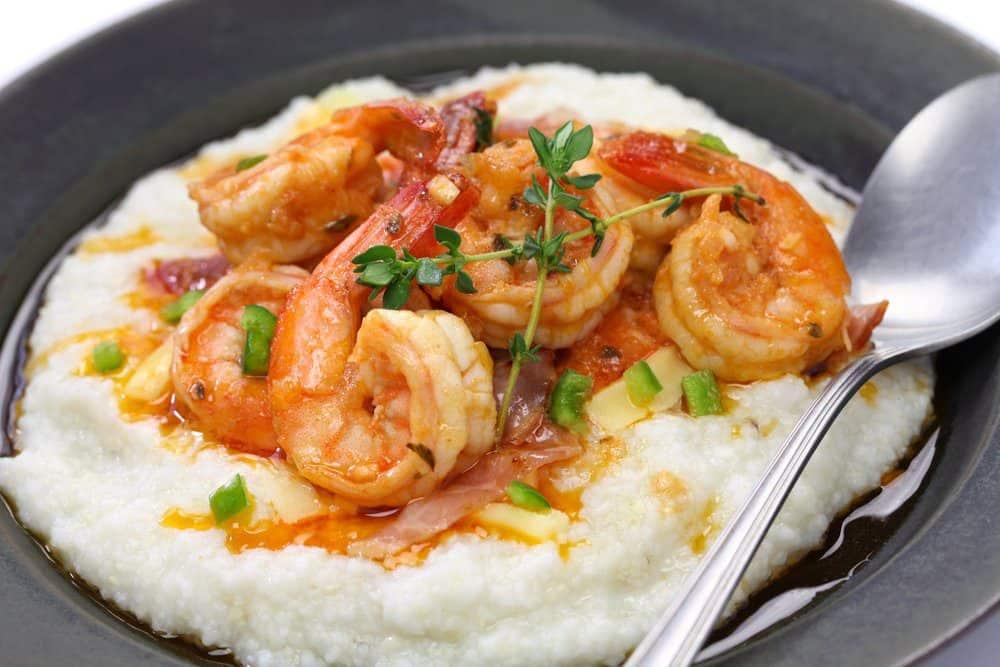 7 Best Restaurants in Ludington MI: Jumbo Shrimp and Grits