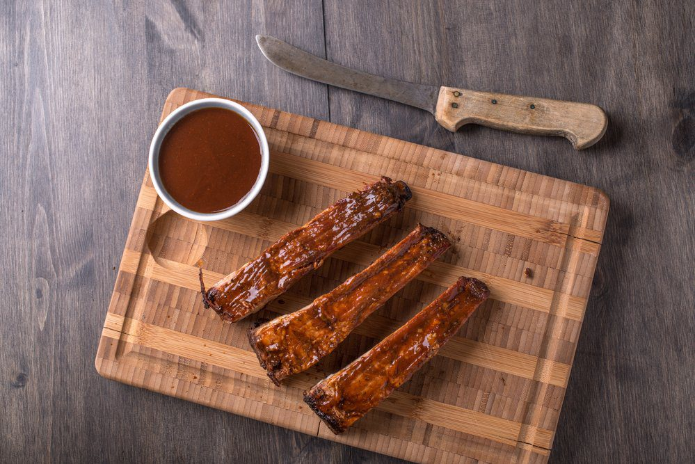 The Best BBQ in Charlotte: BBQ Ribs with BBQ Sauce