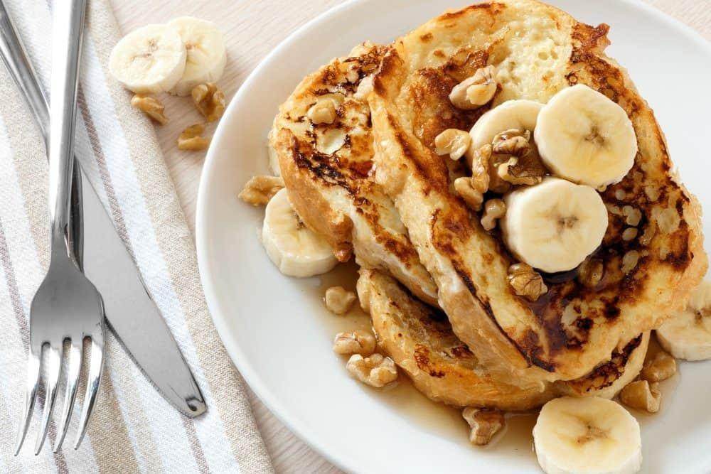 7 Best North Beach San Francisco Italian Restaurants: Banana Walnut French Toast