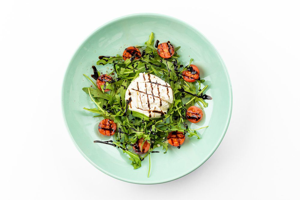 7 Best North Beach San Francisco Italian Restaurants: Buffalo Mozzarella served with arugula, cherry tomato