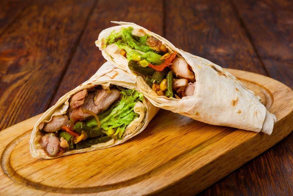 The 11 Best Placencia Restaurants: Chicken Burritos