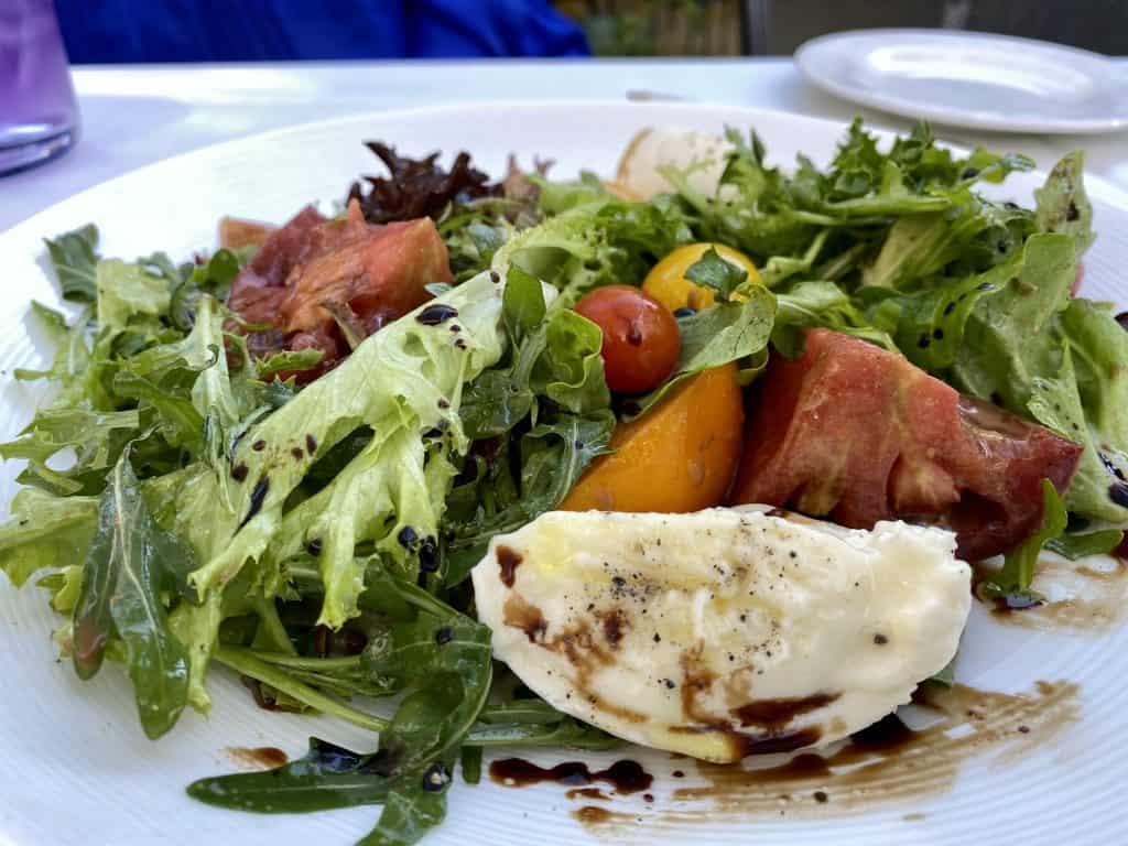 10 Must-Try Sebastopol Restaurants: Heirloom Tomato Salad