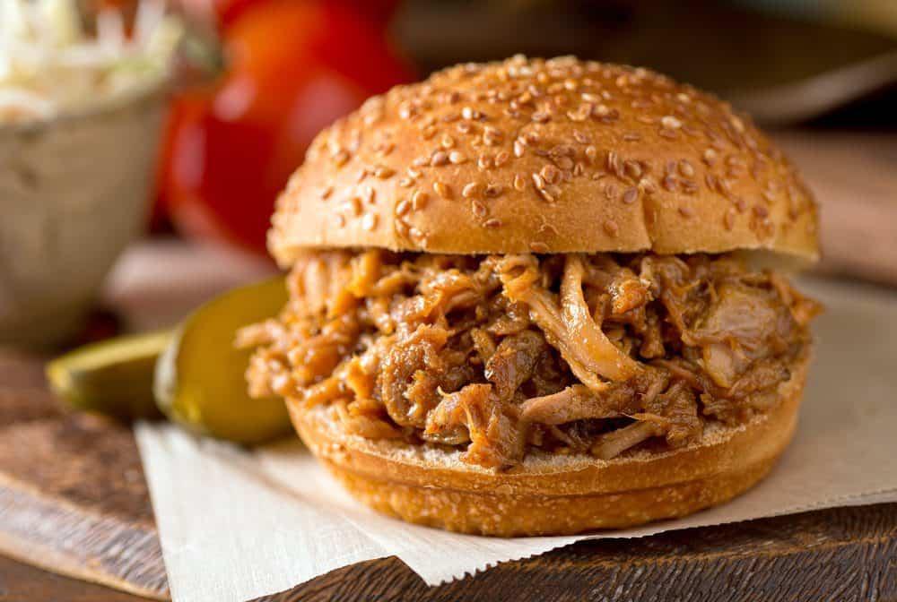 The Best BBQ in Charlotte: Pork Sandwich
