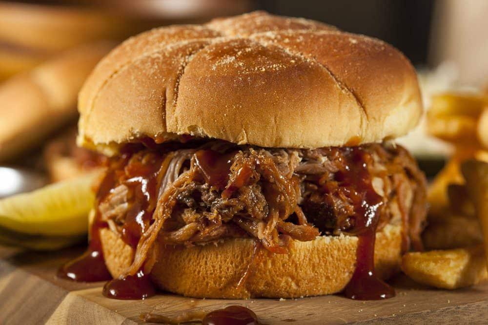 The Best BBQ in Charlotte: Pulled Pork Sandwich
