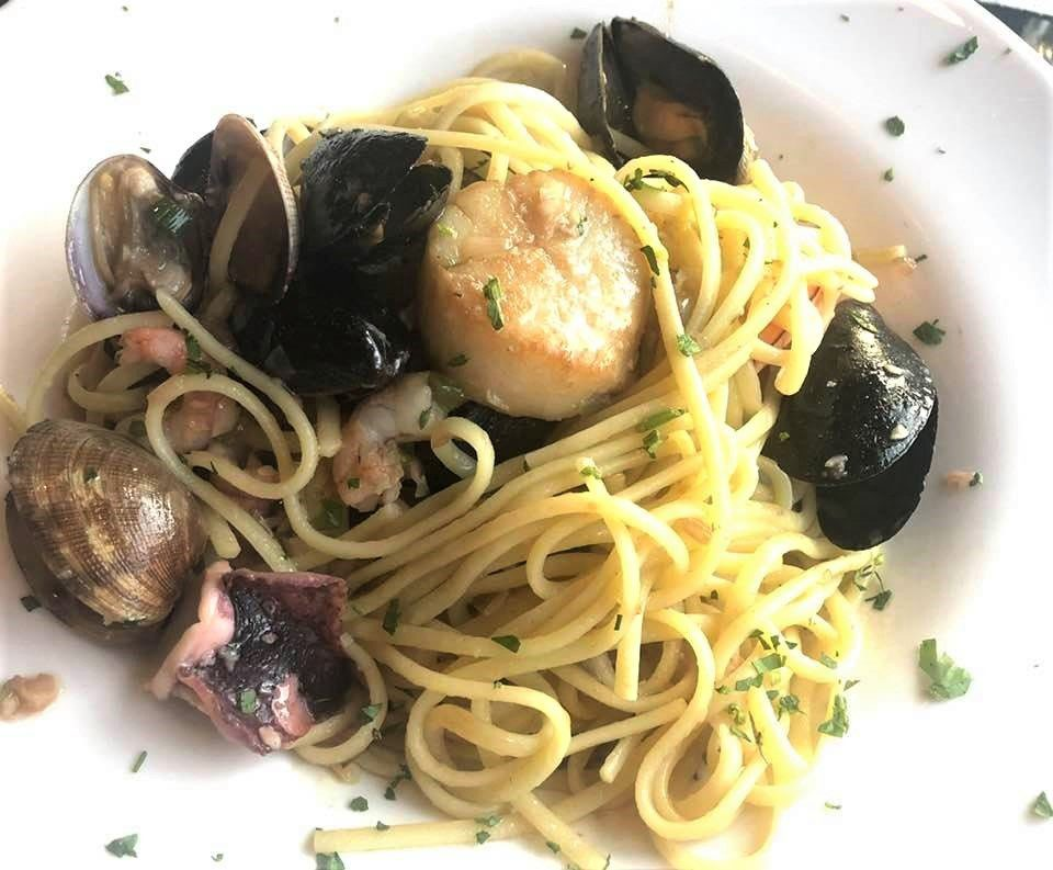 7 Best North Beach San Francisco Italian Restaurants: Seafood Linguini