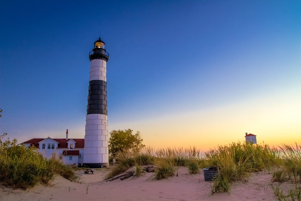 8 Best Things To Do In Ludington MI: The Big Sable Point Lighthouse