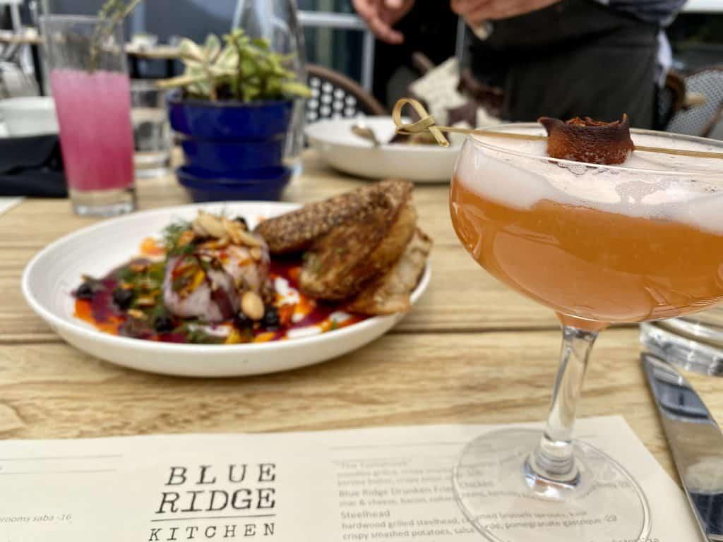 10 Must-Try Sebastopol Restaurants: The Smoking Dove Cocktail & Burrata