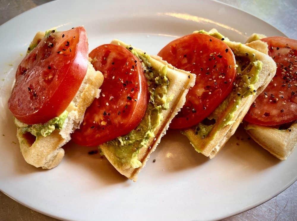 The 5 Best Pass Christian Restaurants: Tomato-Avocado Waffle