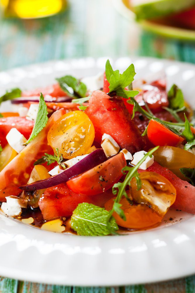 The 11 Best Placencia Restaurants: Watermelon Salad