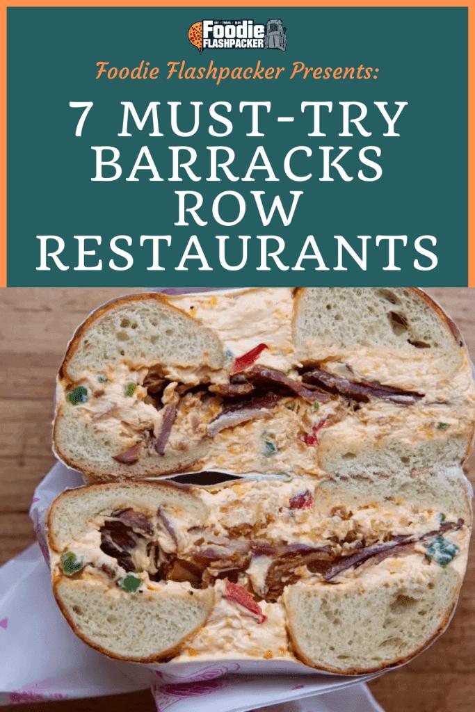Barracks Row Restaurants