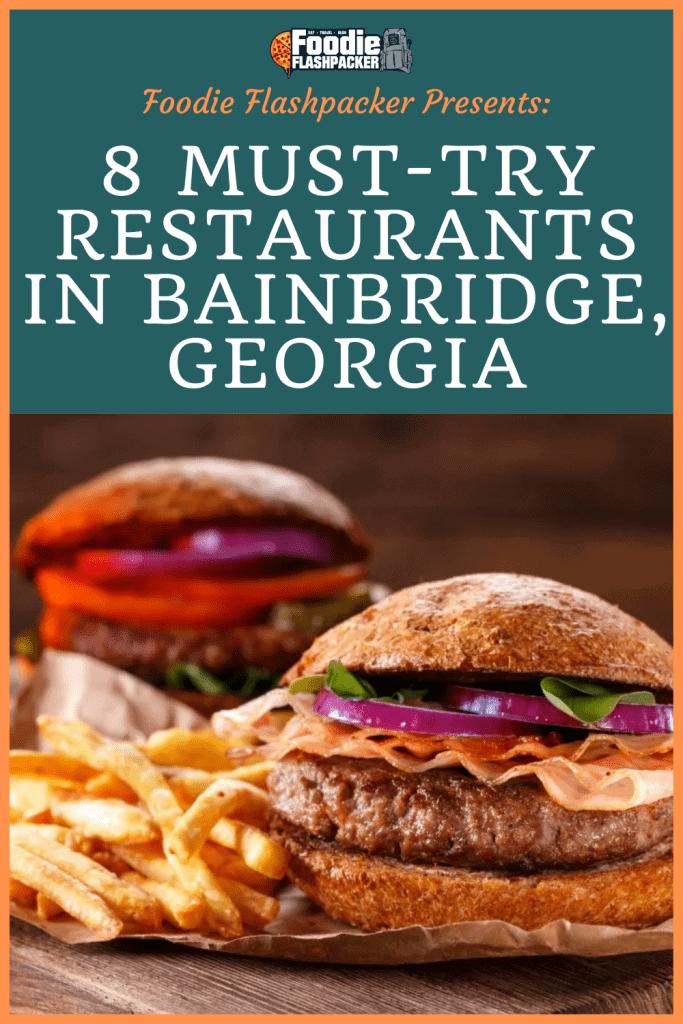 Bainbridge GA Restaurants