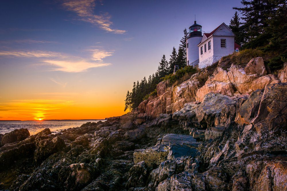 7 Best Things To Do In Bar Harbor Maine:   Acadia National Park,