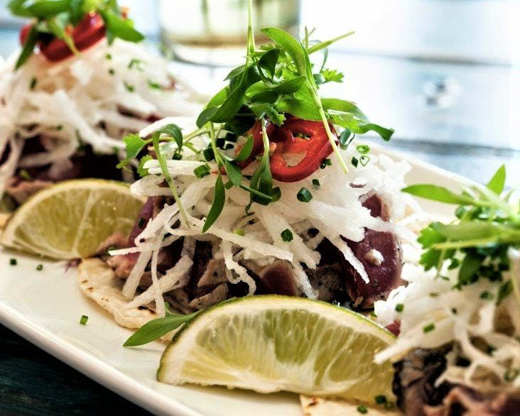 The 8 Best Paso Robles Restaurants: Ahi Tacos