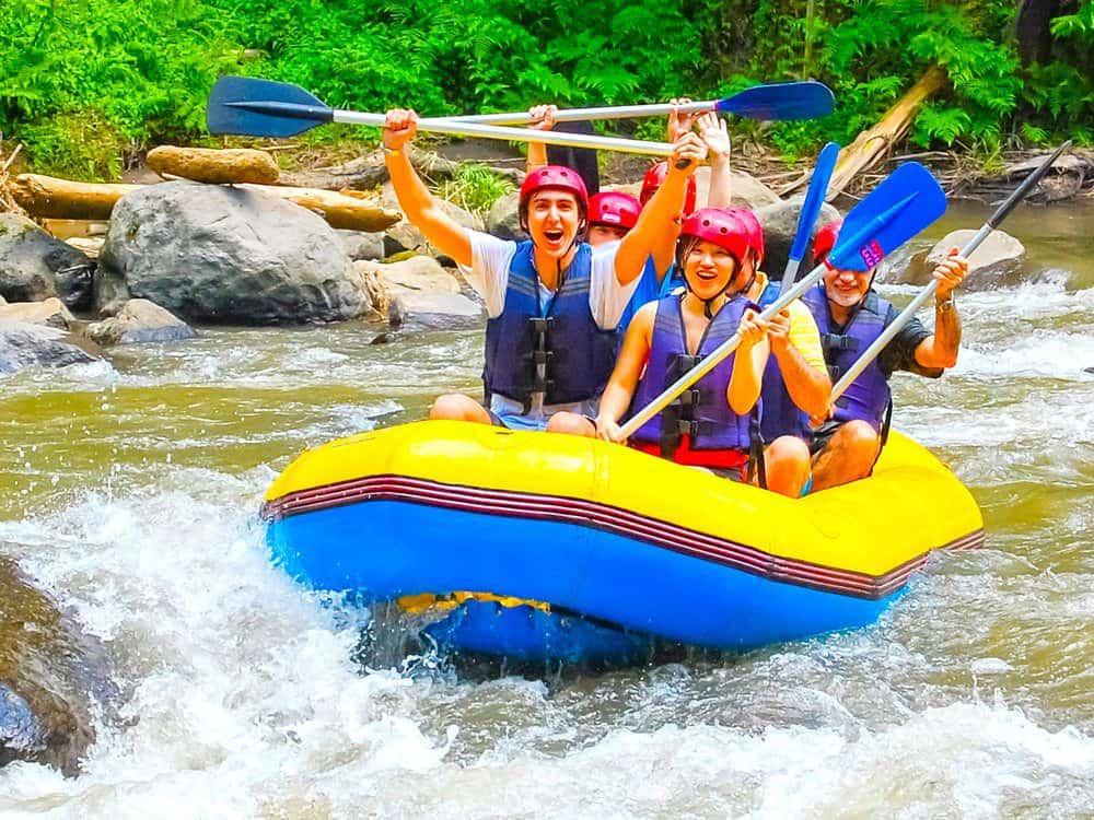 Things To Do In Bali: Bali Rafting