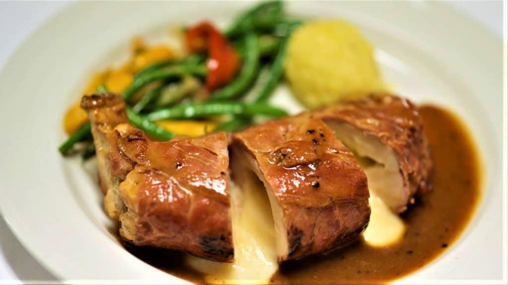 The 8 Best Paso Robles Restaurants: Petti de pollo Asiago