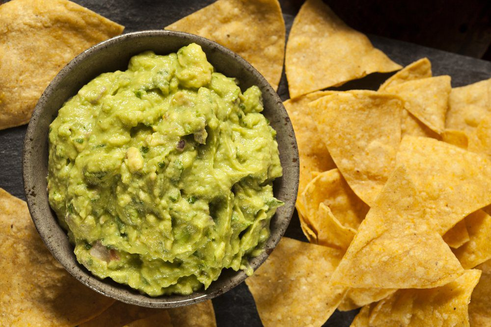 Best Pier 39 Restaurants: Chips and Mango Guacamole