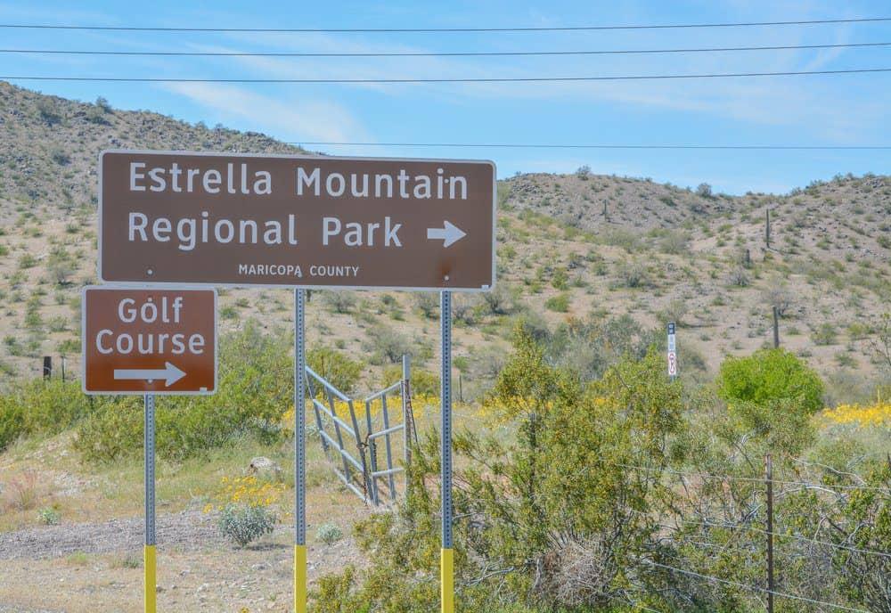 Top Things To Do In Goodyear Arizona: Estrella Mountain Regional Park