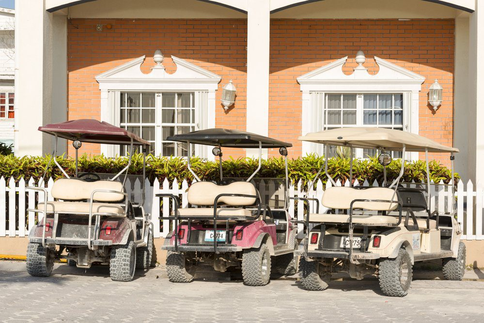 14 Best Things To Do In San Pedro Belize: Golf Carts in San Pedro