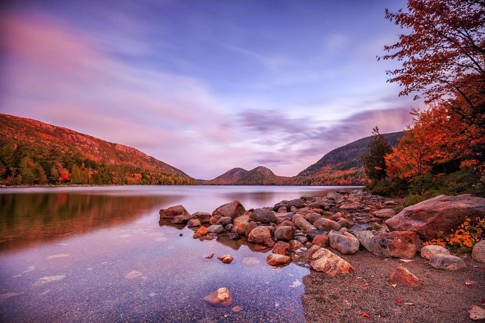 7 Best Things To Do In Bar Harbor Maine: Jordan Pond