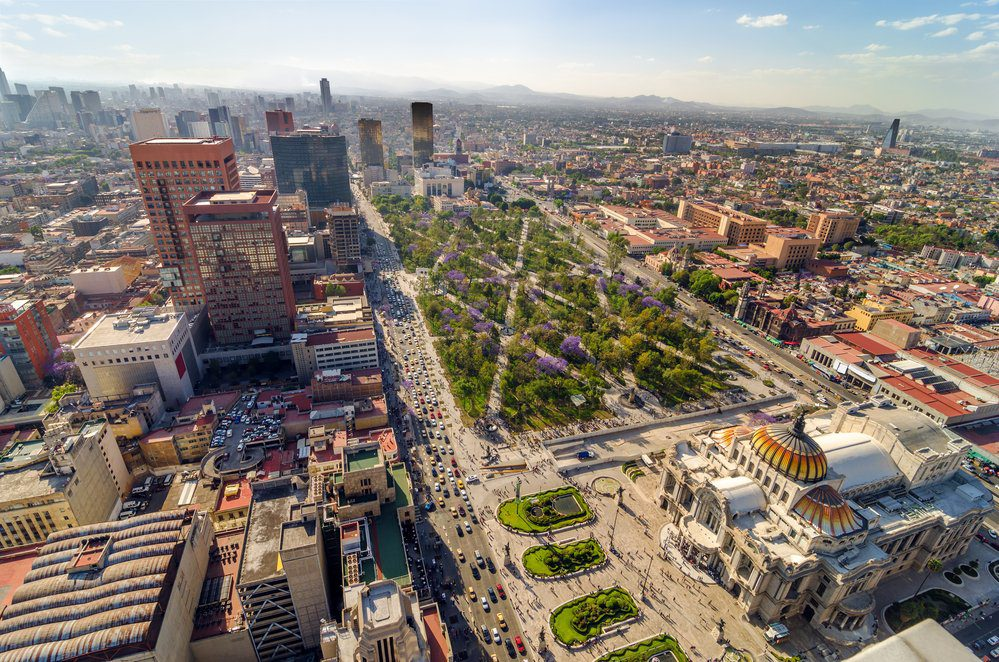 Things To Do In Mexico City: Mexico City Aerial View