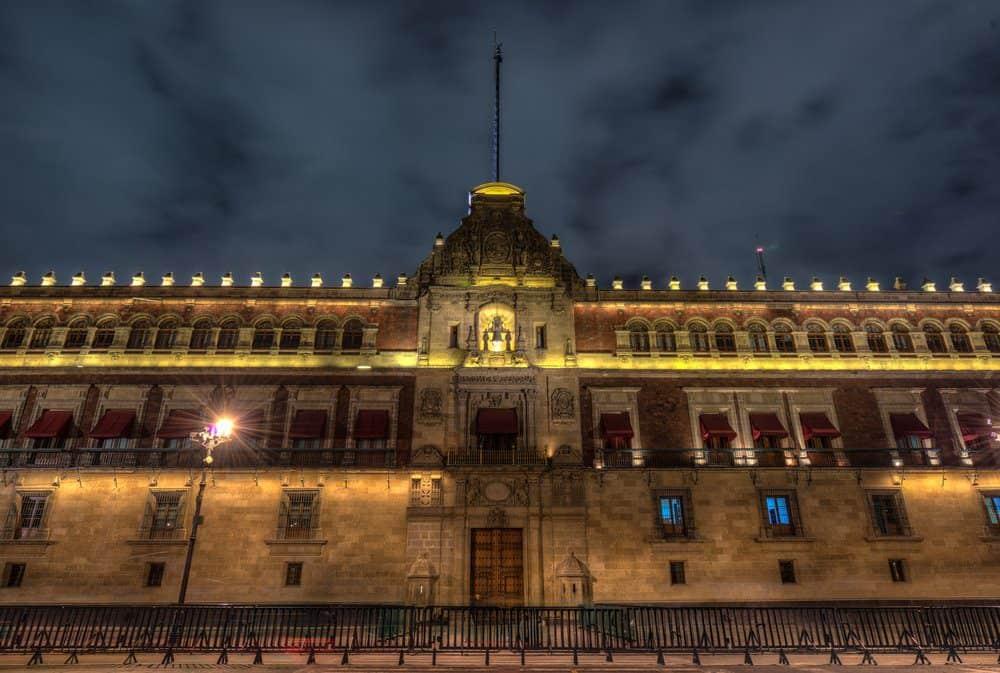 Things To Do In Mexico City: Palacio Nacional