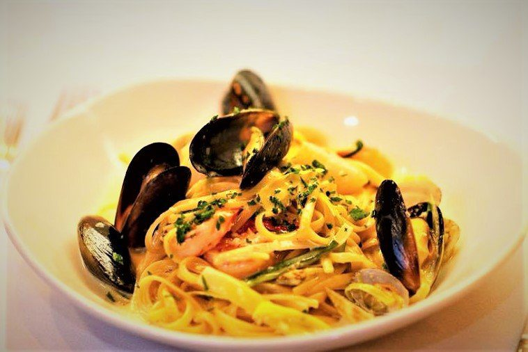 The 8 Best Paso Robles Restaurants: Seafood Linguini