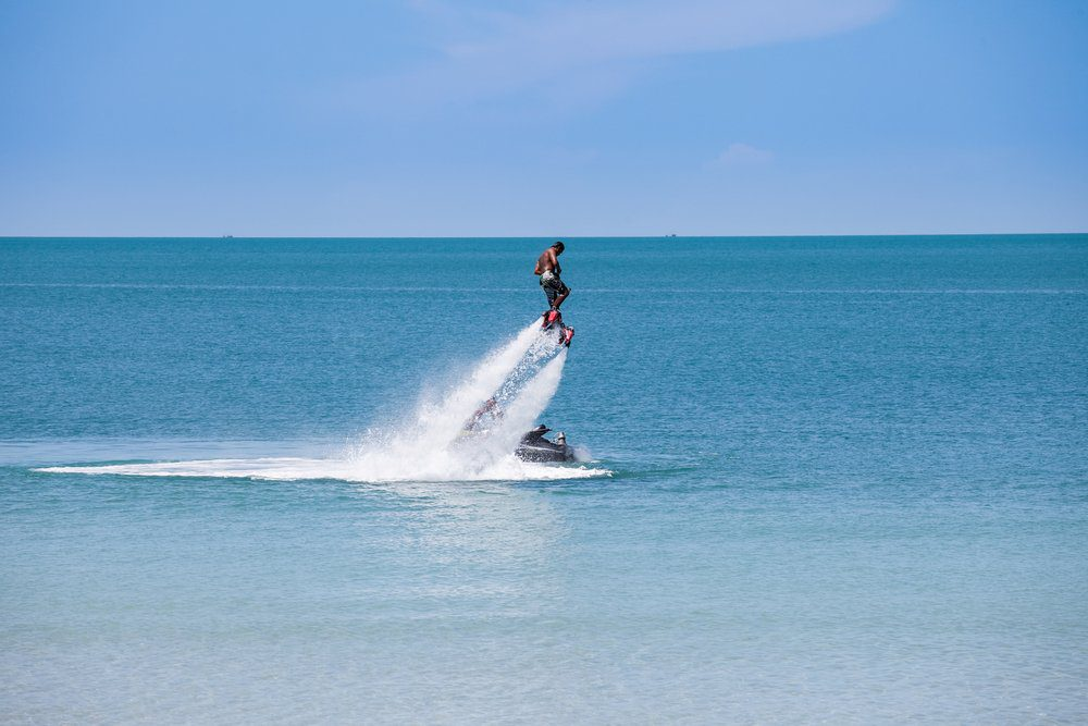 Things To Do In Bali: Water Jet Pack