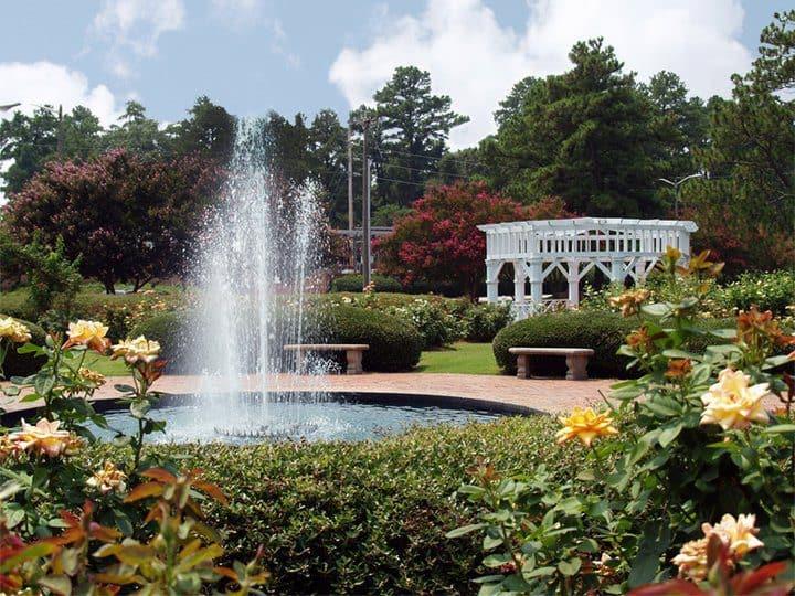 Things To Do In Fayetteville: Fayetteville Rose Garden